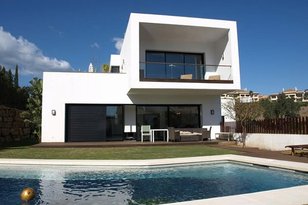 casa su misura moderna