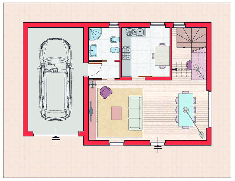 personalizzazione interni casa